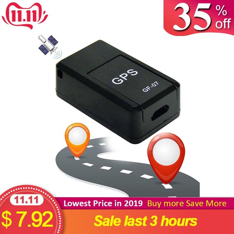 Mini GF07 Anti-perte traqueur de localisation de dispositif de suivi fort magnétique intelligent GPS Tracker en temps réel GSM GPRS pour les voitures enfants plus âgés