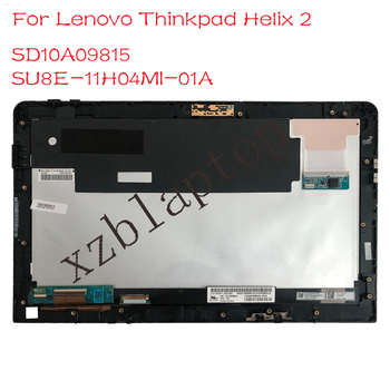 11.6 For Lenovo Thinkpad Helix x2 LCD Screen+Touch Digitizer Assembly B116HAN03.3  LD116WF1 SPN2 with frame 14led lcd display touch screen assembly with bezel for lenovo thinkpad 00hm039 00hm915