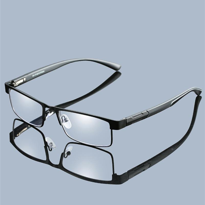 Men Women Titanium Eyeglasses Lenses Zoom Magnifying Reading Glasses Reading 1.0  1.5  2.0  2.5  3.0 3.5 4.0 For Women Men