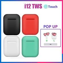 i12 TWS Original Wireless Earphones Bluetooth 5.0 Earphone Stereo Headsets Wireless Earbuds