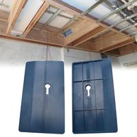 2 шт. Потолочная пластина для позиционирования гипсокартона  инструмент для фиксации комнаты  потолок  наклонные стены  украшение  плотник  ...