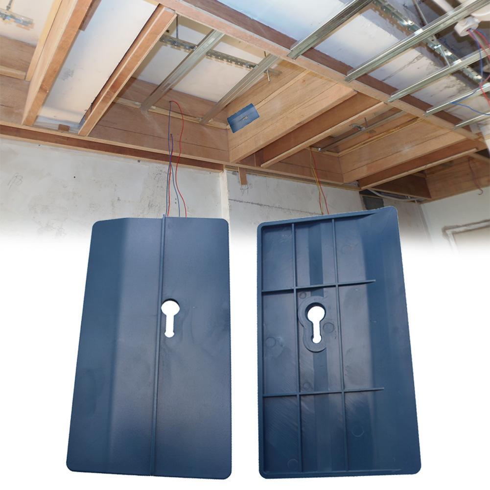 2pcs Piastra di Posizionamento del Soffitto In Cartongesso Strumento di Fissaggio A Soffitto Camera Inclinato Pareti Decorazione Strumento Falegname del Muro A Secco Attrezzo di Montaggio