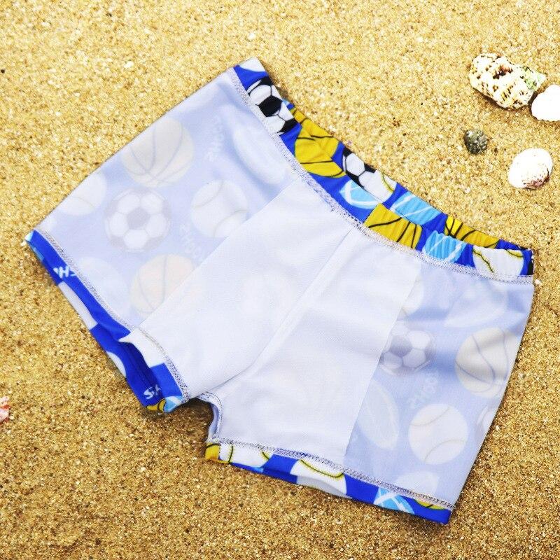 Swimming Pool Children Baby BOY'S Big Boy Swimming Trunks CHILDREN'S Comfortable Boxer Swim Baby Cartoon When