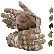 Männer Reiten Handschuhe Radfahren Fahrrad Volle Finger Motos Racing Handschuhe Gleitschutz Bildschirm Touch Outdoor Sport Taktische Handschuhe Schützen Getriebe