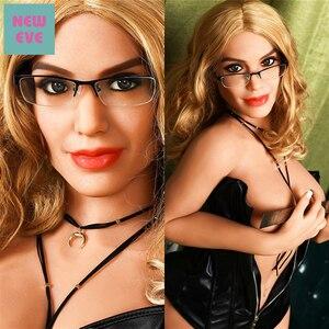 Image 1 - 167 ซม.(5.47ft) TPE Sex ตุ๊กตาตุ๊กตาใหญ่สีบลอนด์ Nerd Cool สาว Stripper ขนาดใหญ่ตูดช่องคลอดประดิษฐ์จริงขนาดอเมริกันซิลิโคนเพศตุ๊กตา