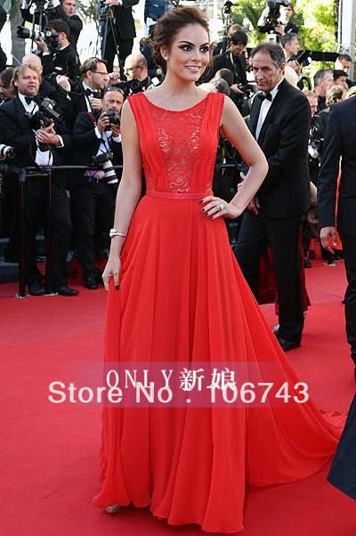 Free Shipping 2018 New Vestidos Formal Sexy Backless Red Long Lace Style Elegant Party Prom Gown Mother Of The Bride Dresses