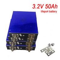 1pcs/lot 3.2v 50Ah lifepo4 lithium battery Lithium iron phosphate battery deep cycle for diy 24v 12V 200Ah Solar energy storage