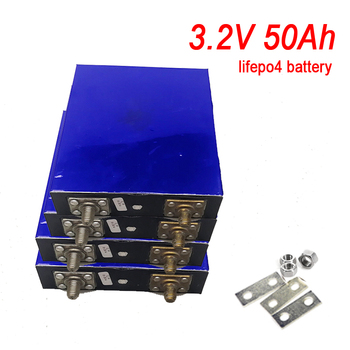 1pcs/lot 3.2v 50Ah lifepo4 lithium battery Lithium iron phosphate battery deep cycle for diy 24v 12V 200Ah Solar energy storage