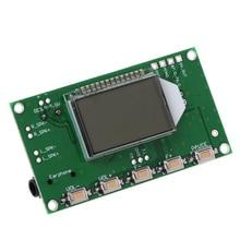 2020 yeni PLL LCD dijital FM radyo alıcısı modülü 87 108MHZ kablosuz mikrofon Stereo