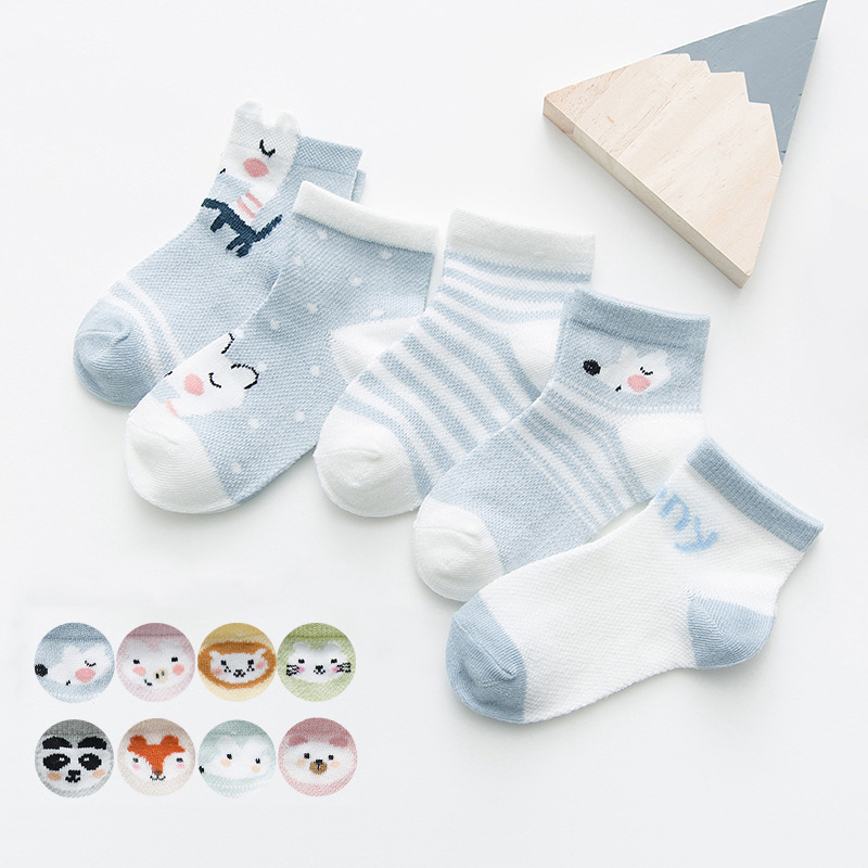 Baby Socks for Boys and Girls 0–24 Months with Cute Designs