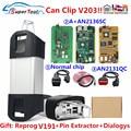 Can Clip V205/V196 для Renault CYPERSS AN2131QC AN2136SC полный чип OBD2 диагностический инструмент для Renault Can Clip V202 Till автомобилей 2019