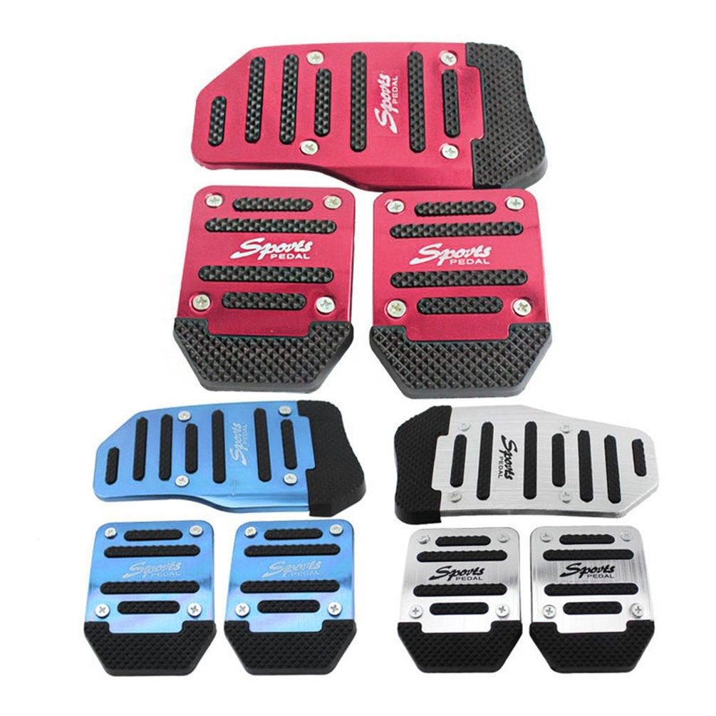 Opp сумка, алюминиевая ручная коробка передач, автомобильная Нескользящая педаль, ручная Автомобильная Тормозная муфта, акселератор, сплав, противоскользящая ножная педаль