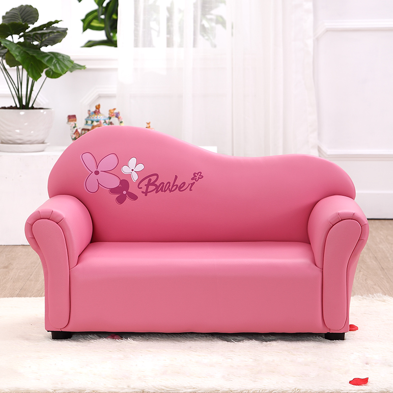 Children's Sofa Cute Cartoon Baby Sofa Preschool Education Jinbao Sofa Green Leather Combination Sofa Chair