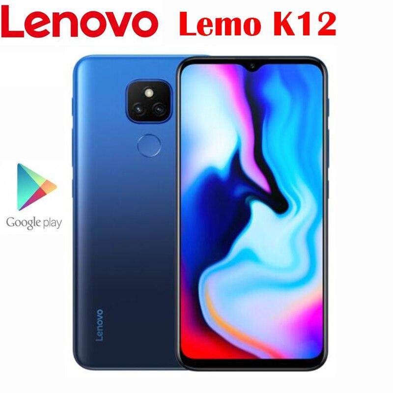 Officiel nouveau Original Lenovo Lemo K12 4G téléphone portable Snapdragon 460 Octa Core 6.5 pouces 1600x720P LCD 5000Mah batterie 48.0MP caméra   AliExpress
