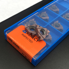 10PCS 16ER AG60 PC9030 고품질 16IR AG60 NC3020 절삭 공구 CNC 선반 나사 선삭 공구 초경 인서트