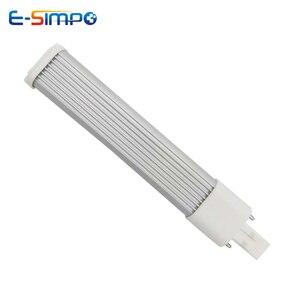 Image 3 - 5W 6W 7W LED ampoule horizontale GX23/G23 LED projecteur 180 degrés AC85 135/195 265V lumière LED de remplacement intérieur
