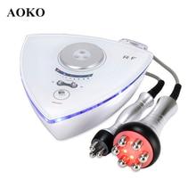 AOKO Professional 2 in 1 RF Radio Frequency Beauty Machine Eye Skin Care Tool Skin Rejuvenation Skin Tightening Face Lifting