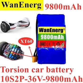 2021 new torsion car balance car battery pack 10s2p 36V 9800mah, full power, super long life