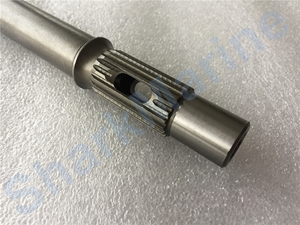 Image 5 - Propeller shaft 66T 45611 00 for YAMAHA outboard 25/30/40HP