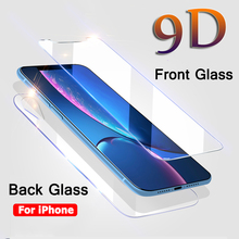 Front And Back Tempered Glass For iPhone XS Max XR XS X Screen Protector On The For iPhone Xr Back Clear Protective Glass Film