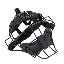 Baseball Protective Mask Softball Steel Frame Head Protection Equipment Softball Umpire And Catcher's Mask