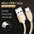 Kebiss мини USB кабель Mini USB для быстрой передачи данных Зарядное устройство кабель для MP3 MP4 плеер Видеорегистраторы для автомобилей GPS цифровой ...