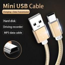 Kebiss mini usb cabo mini usb para usb rápido carregador de dados cabo para mp3 mp4 player carro dvr gps digital câmera hdd mini usb