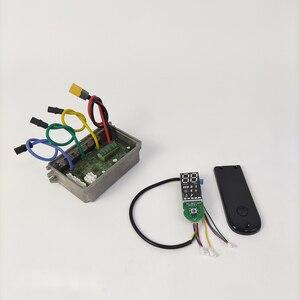 Плата управления и приборная панель для Ninebot Max g30 комплекты электрических скутеров аксессуары для электрических скутеров запчасти