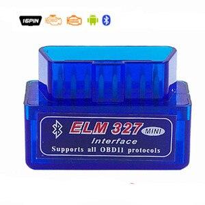 Image 3 - סופר מיני ELM327 V2.1 Bluetooth + ELM327 USB אבחון כלי ELM 327 Bluetooth OBD ELM327 V2.1 USB ממשק עם בלם עט