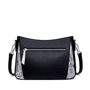 Image 4 - ZOOLER Cow leather Women Crossbody Bag Shoulder Bags Office Black Purse Lady Female Messenger Bag Women Present Gift #lt292