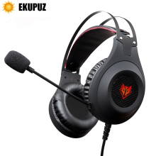 EKUPUZ N2 Computer Stereo Gaming Headphones Earphones headset gamer for Mobile Phone PS4 Xbox PC Headphone with mic Earbuds