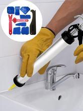 10 Pieces Caulking Tool Kit  Sealant Finishing Grout Scraper Caulk Remover Surface Glue Residual Shovel Hand