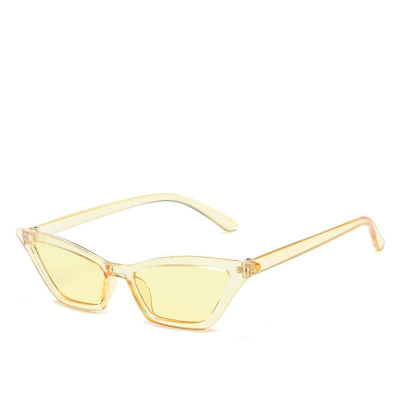 קלאסי עין חתול מעצב מותג מגמת מגמת אדום משקפי שמש נשים סקסי משקפיים למבוגרים פלסטיק משקפיים