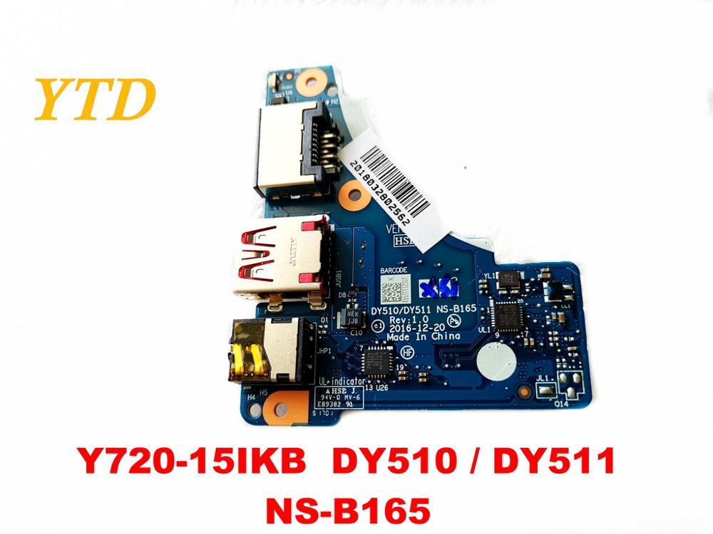 Original For Lenovo Y720-15IKB USB Board  Audio  Board Y720-15IKB  DY510  DY511  NS-B165  Tested Good Free Shipping