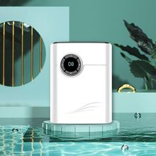 1200ml Dehumidifier Negative Ion Air Cleaner Energy Saving Air Dryer Time Display Low Noise Auto-off for Bedroom US/AU/EU Plug