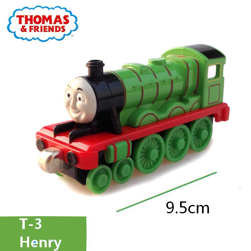 Thomas And Friends 1 43 Henry Train Number 3 Model Metal Plastic Magnetic Track Car Toys For Children Christmas Gift Diecasts Toy Vehicles Aliexpress