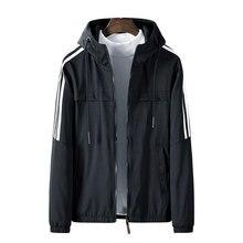 Paragraph Lang Legendary new jacket men, men hooded striped decoration,jacket standard conventional,jacket polyester