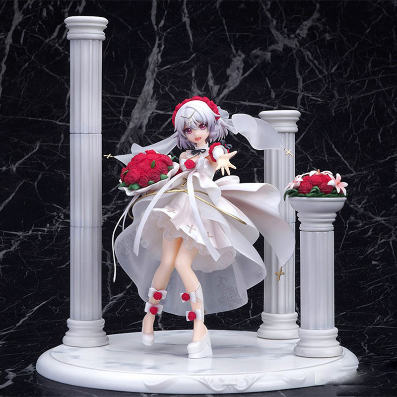 Mihoyo <font><b>Apex</b></font> Houkai 3rd Theresa Apokalypse Rosy Bridesmaid Ver. PVC Action Figure Anime Figure Model <font><b>Toys</b></font> Collectible Doll image