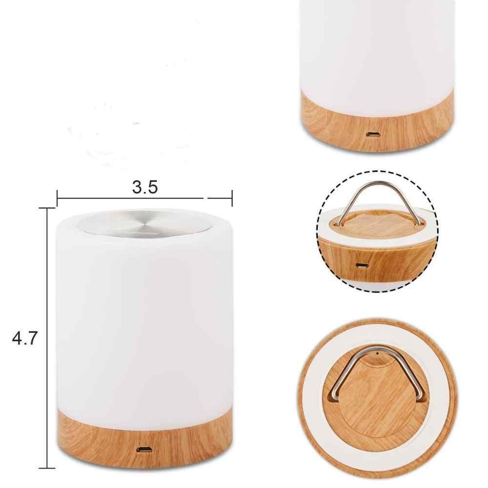 שולחן-מנורת USB חכם המיטה מנורת LED מנורת הלילה יצירתי מיטת שולחן אור שליד המיטה השינה מנורת חכם מיטת הלילה אורות מתנות