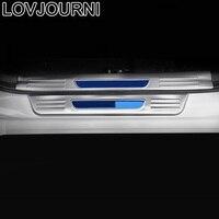자동차 후면 패널 풋 페달 외관 Automovil 자동차 자동 트림 밝은 장식 조각 장식 12 13 14 15 16 FOR Hyundai Elantra