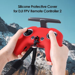 Image 3 - Siliconen Cover Skin Case Voor Dji Fpv Afstandsbediening 2 Non Slip Rubber Beschermhoes Protector