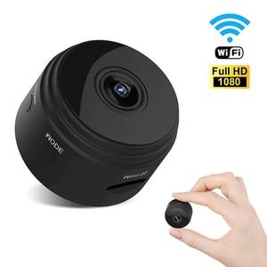 A9 1080P Wifi Mini kamera do domowego systemu alarmowego P2P kamera mała noktowizyjna bezprzewodowa kamera przemysłowa