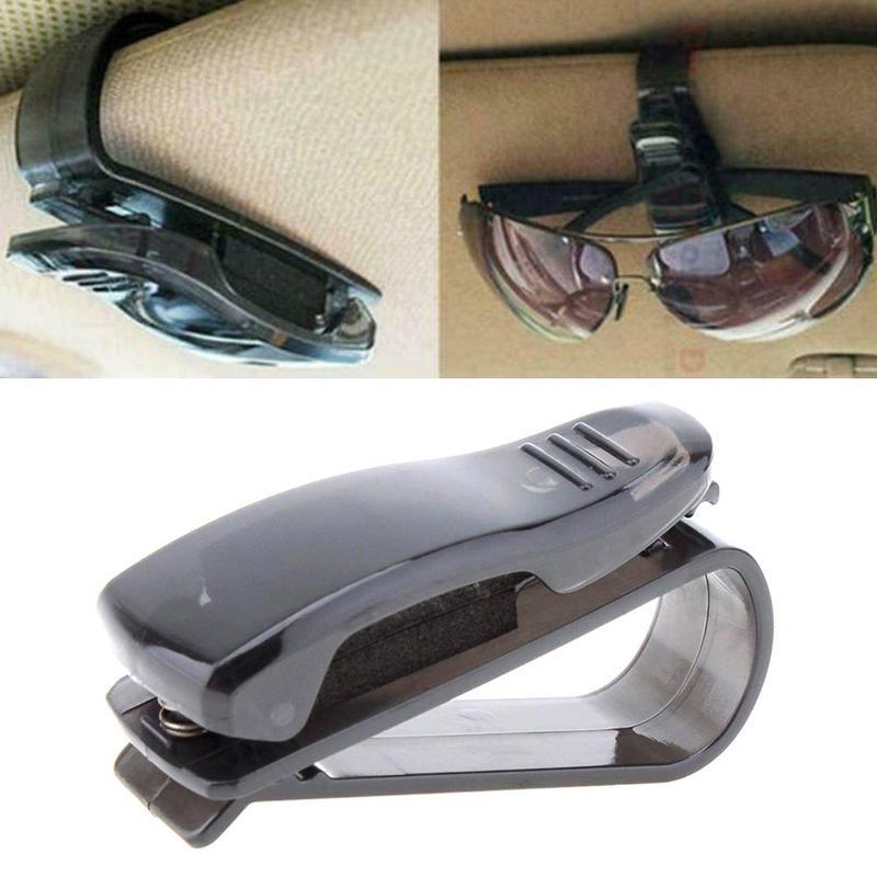 Clip Car-Glasses-Holder Car-Decoration Automobile Universal Bills-Cards Sunshade Multifunction