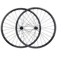 Ruedas asimétricas para bicicleta de montaña, ruedas sin tubo de 1220g, 29ER, XC, de 30mm, de carbono y 25mm de profundidad, 110, 148, 11s, XD, 12s
