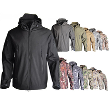 TAD SoftShell V4.0 Tactical Jacket Military Camoufalge Hunting  Mens Waterproof Clothes Windbreaker