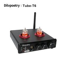QCC3008 Tube-Amplifier Headphone Bluetooth Dilvpoetry Tube-T6 24bit/192khz DAC NE5532