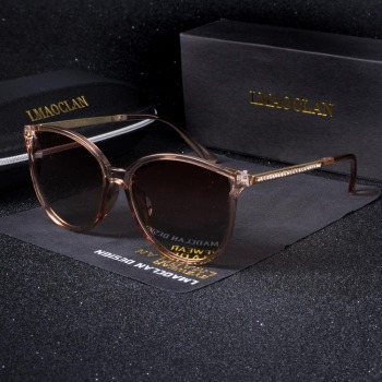 New Luxury Women Polarized Sunglasses Fashion Cat Eye Ladies Vintage Brand Designer Female Sun Glasses oculos gafas