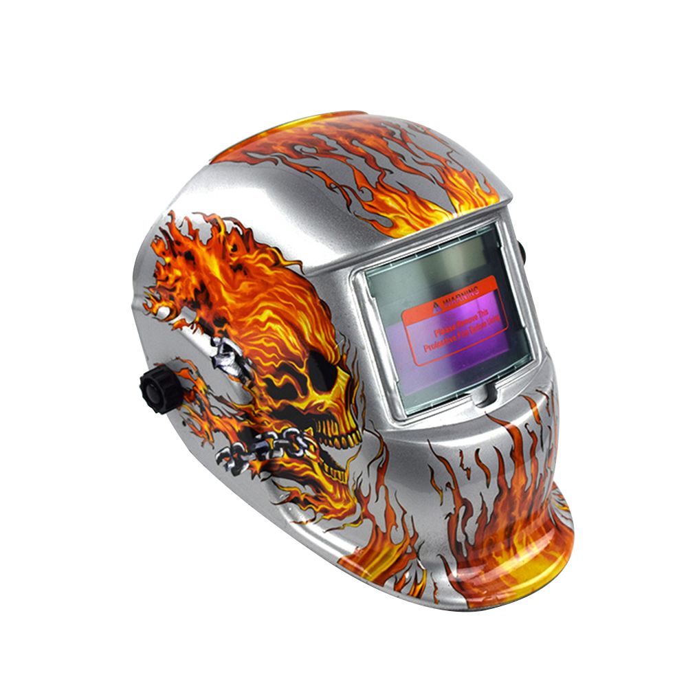 Protecter For Welding Machine Solar Face Mask Out Control Grinding Helmet Welding Mask Welding Lens Auto Darkening  Cap
