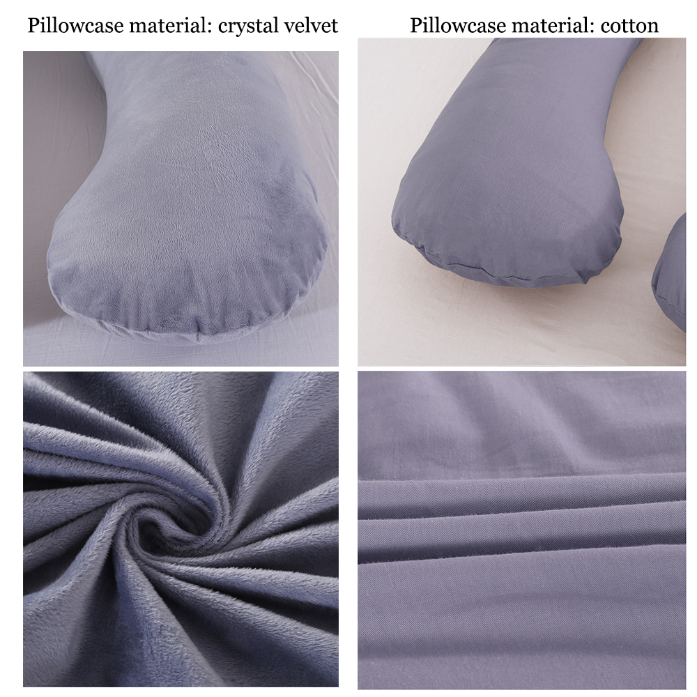 Pillow that helps pregnant women to sleep better