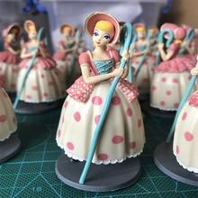 1piece 8cm Toy Story 4 Bo Peep PVC Action Figure Toy Woody's girlfriend shepherdess Figures Model Doll цена и фото